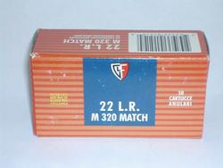 Fiocchi Match 320 (M320)