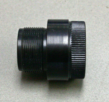 Adapter to convert Izhmash front sight to Anschutz thread pitch